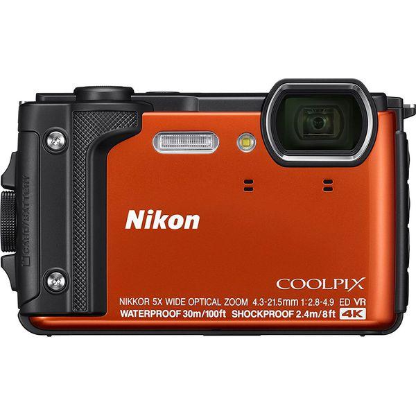 72cbdcc061b16 Aparat cyfrowy Nikon Coolpix W300 Pomarańczowy + plecak - Aparaty ...