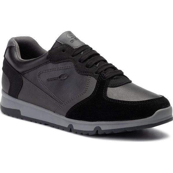 Sneakersy GEOX U Wilmer A U943XA 0BCME C9270 BlackAnthracite