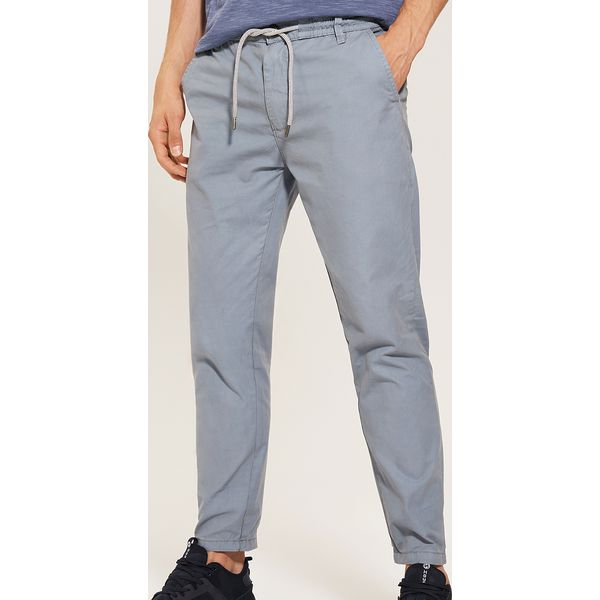 a8c7541d11367 Spodnie typu chino - Niebieski - Niebieskie eleganckie spodnie ...
