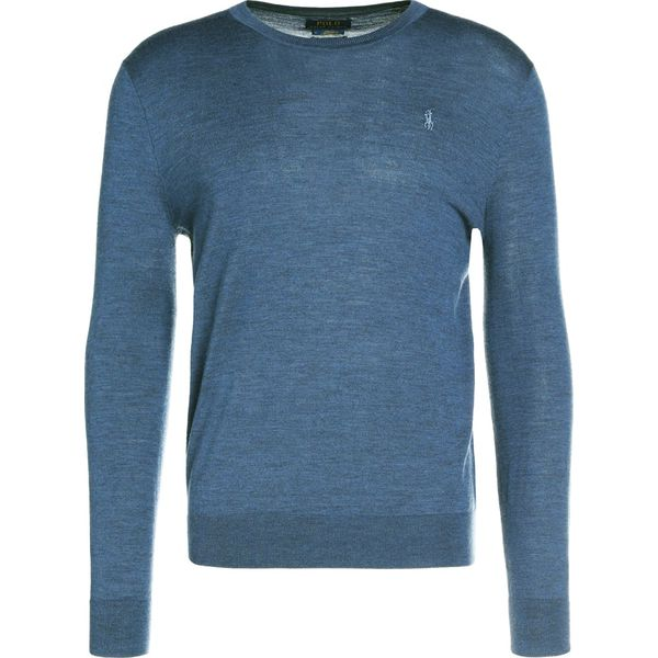 26563e6ba Polo Ralph Lauren Sweter shale blue heather - Niebieskie swetry ...
