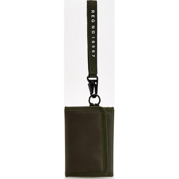 9426d6fbc2fff Portfel z ozdobną taśmą - Khaki - Brązowe portfele męskie marki ...