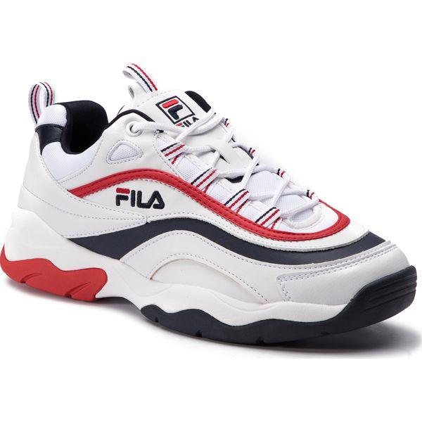 sprzedawca hurtowy dobra jakość świeże style Sneakersy FILA - Ray F Low 1010578.01M White/Fila Navy/Fila Red