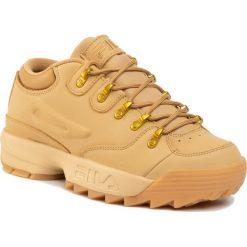 Brązowe buty sportowe męskie Fila Kolekcja zima 2020
