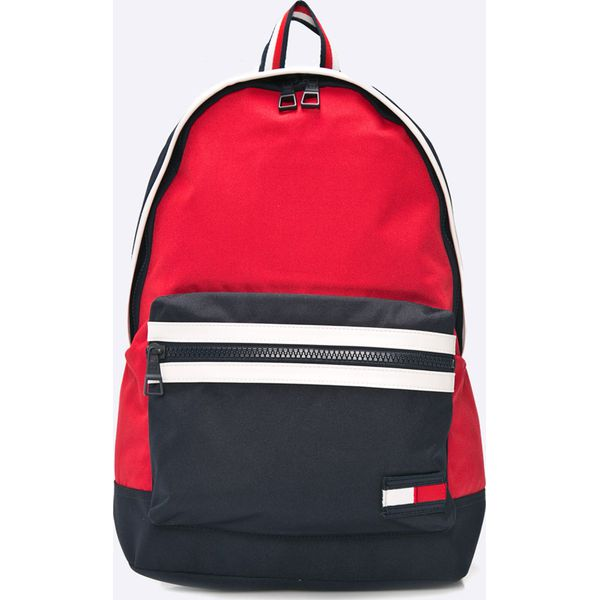 fa03eb6b345d4 Tommy Hilfiger - Plecak - Czerwone plecaki męskie marki Tommy ...
