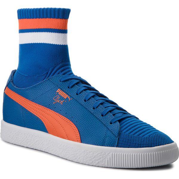 Sneakersy PUMA Clyde Sock NYC 364948 03 LBlueSlbisPuma White