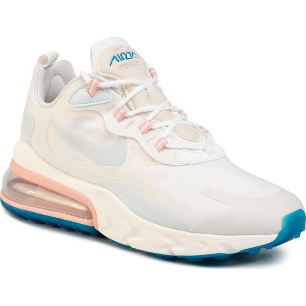 Details about Nike Air Max 270 React Summit White Blue Pink Mens Running Shoes AO4971 100