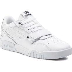Sneakersy SUPRA Muska2000 06582 100 M White Białe buty