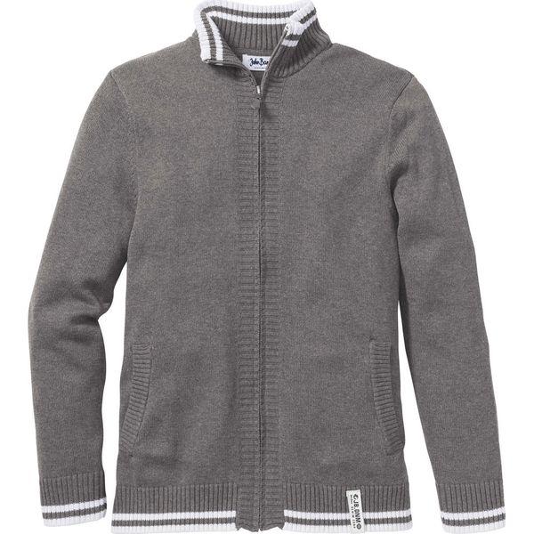 fbaf5bd78585 Sweter rozpinany Regular Fit bonprix szary melanż - Kardigany męskie marki  bonprix. Za 59.99 zł. - Kardigany męskie - Bluzy i swetry męskie - Odzież  męska ...
