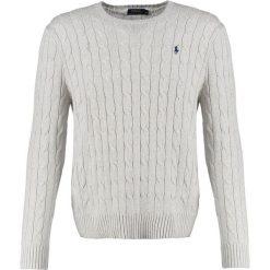 99c6e3f3e328c Polo Ralph Lauren CABLE Sweter light grey heather. Kardigany męskie marki  Polo Ralph Lauren.