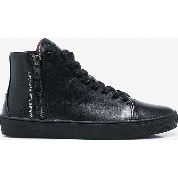 2a4bcbf44ab98 Guess Jeans - Buty - Czarne buty sportowe na co dzień męskie marki ...