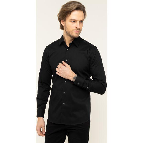 Koszula Karl Lagerfeld 605100 592691 Czarne koszule męskie  BhxPE