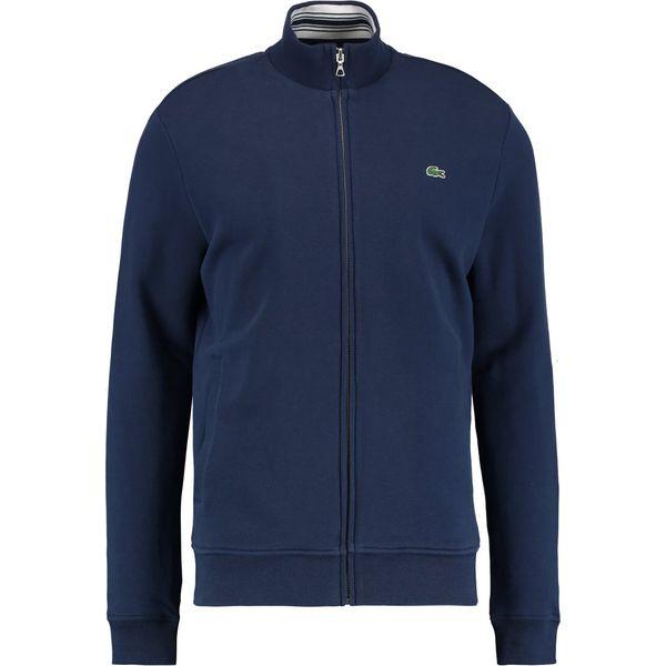 35cef3d00fc9bb Lacoste Bluza rozpinana marine - Bluzy rozpinane męskie marki ...