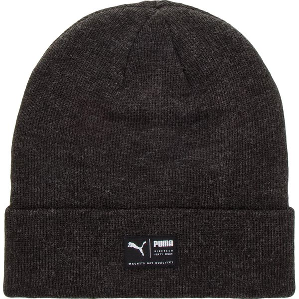 31f1e6cd93e13 Czapka PUMA - Archive Heather Beanie 021739 01 Puma Black - Czapki ...