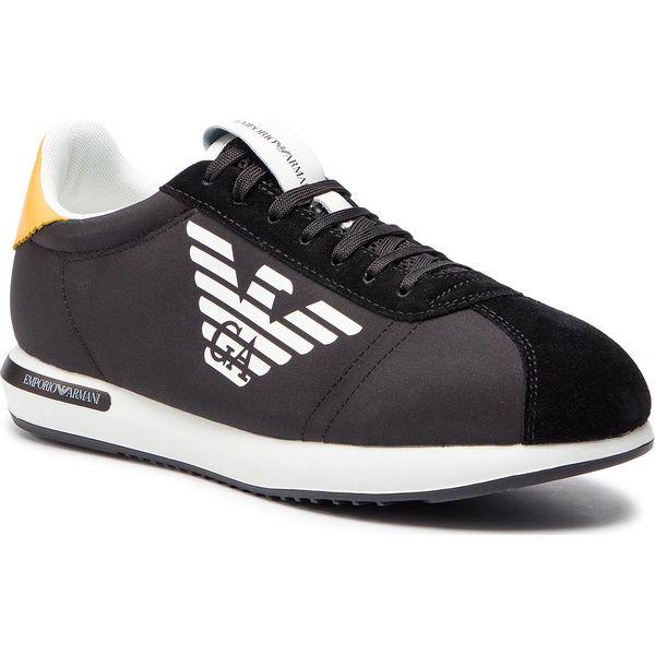 447d36a62771e Sneakersy EMPORIO ARMANI - X4X260 XL710 A083 Black/Black/Sun - Buty ...