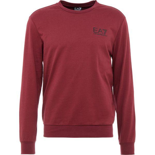 ad4bd6c1b60e EA7 Emporio Armani Bluza cordovan - Bluzy nierozpinane męskie marki ...
