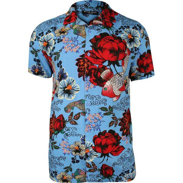 Koszule męskie Brave Soul, z krótkim rękawem Kolekcja  tIKJS