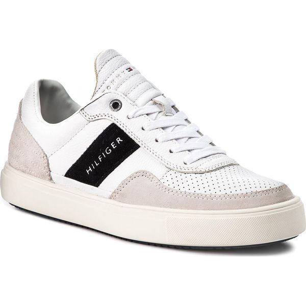 0cedaeb87c7e9 Sneakersy TOMMY HILFIGER - Lightweight Material Mix Low Cut ...