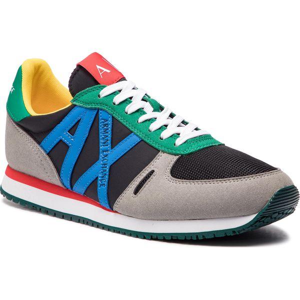 e9a568d3d17aa Sneakersy ARMANI EXCHANGE - XUX017 XV028 C500 Black/Multicolor ...