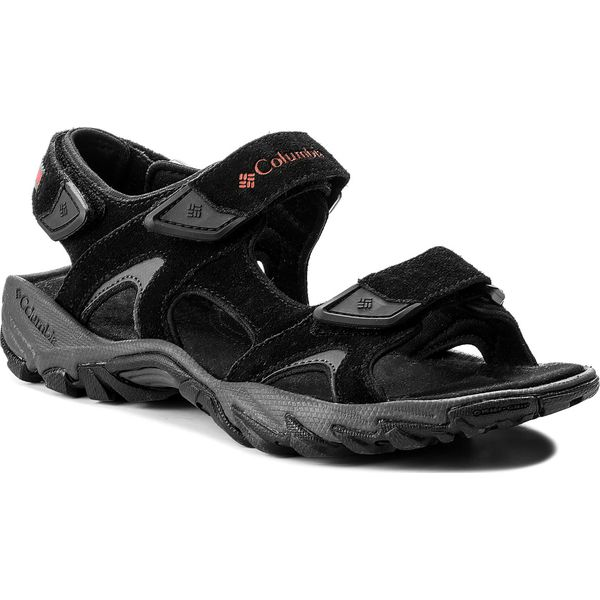 Sandały COLUMBIA - Santiam 3 Strap BM4625 Black Mountain Red 010 ... 71bca208ba