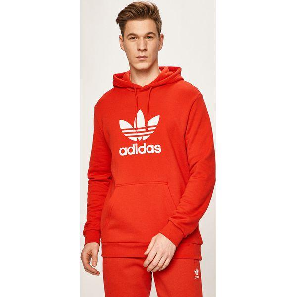 adidas bluzy czerwone