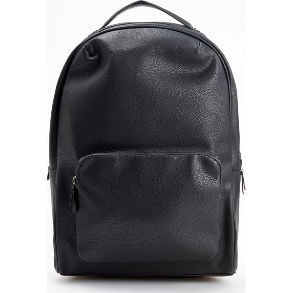 38a23bfb781cd Plecak z kieszenią na laptopa - Czarny - Plecaki męskie marki ...