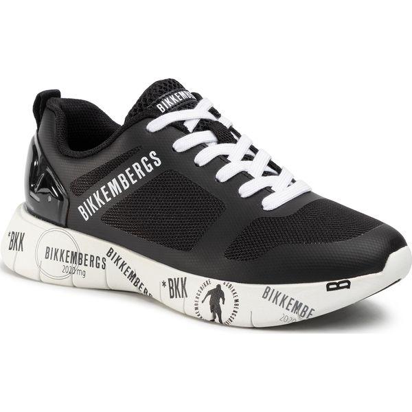 Sneakersy BIKKEMBERGS Flavio B4BKM0089 BlackBlack