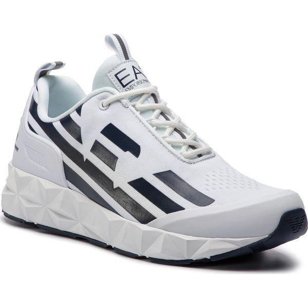7a8b67e7c1 Sneakersy EA7 EMPORIO ARMANI - X8X033 XCC52 B139 White Navy - Buty ...
