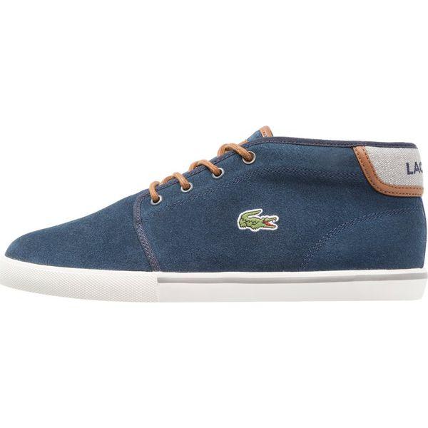 71a7b875c Lacoste AMPTHILL Sneakersy wysokie navy/tan - Buty sportowe na co ...