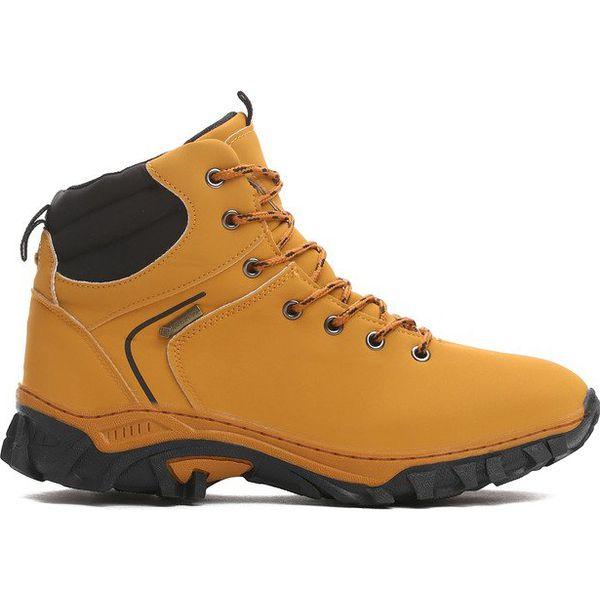 Zupełnie nowe Camelowe Trapery Palpability - Pomarańczowe buty zimowe męskie GP79