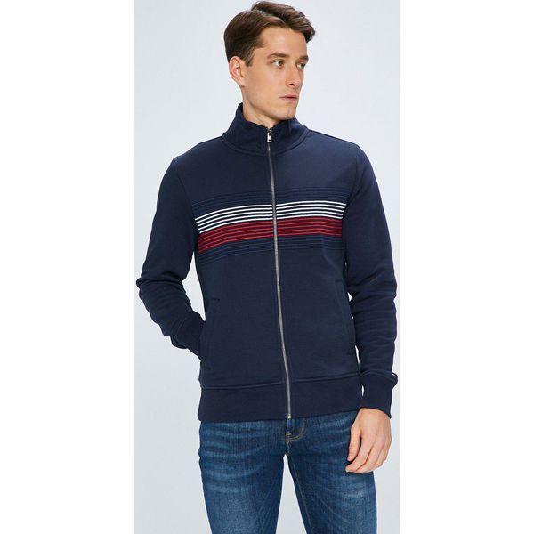 3bc1f46819a0b Tommy Hilfiger - Bluza - Czarne bluzy rozpinane męskie marki Tommy ...