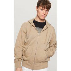 daed9a3366862d ... swetry męskie - Kolekcja wiosna 2019. -50%. Rozpinana bluza z kapturem  - Beżowy. Brązowe bluzy z kapturem męskie marki Reserved, ...