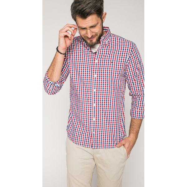 63c5902c1214f Tommy Hilfiger - Koszula - Szare koszule męskie marki Tommy Hilfiger ...