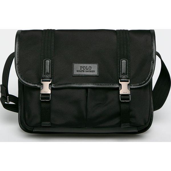 865716f4fb95c Polo Ralph Lauren - Torba - Czarne torby męskie na ramię marki Polo Ralph  Lauren