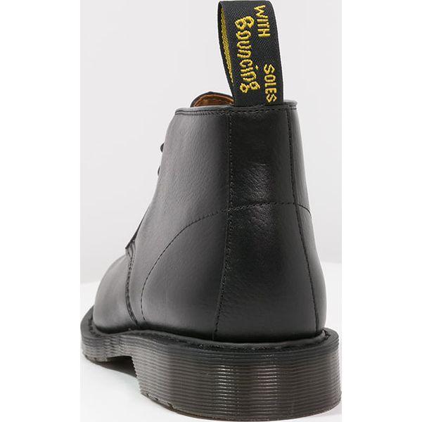 3ab7105644222 Dr. Martens SAWYER Botki sznurowane black - Sztyblety męskie marki ...