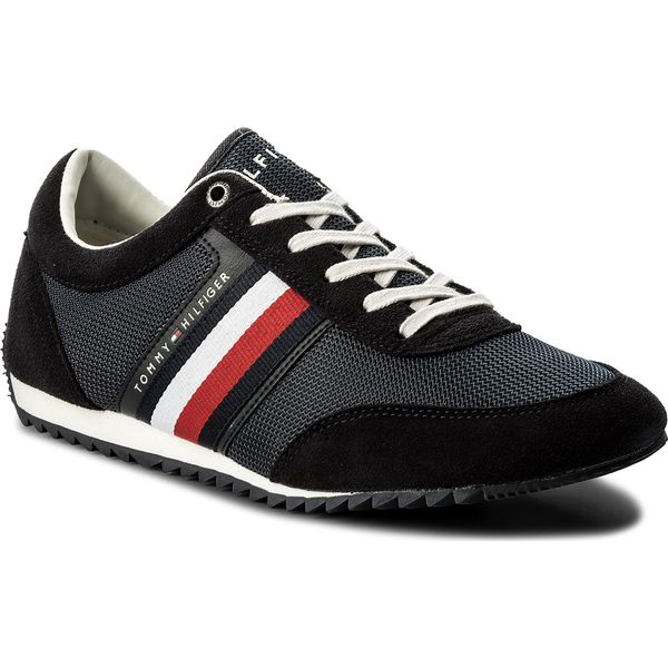 da628c94bae4f Sneakersy TOMMY HILFIGER - Corporate Material Mix Runner FM0FM01314 ...