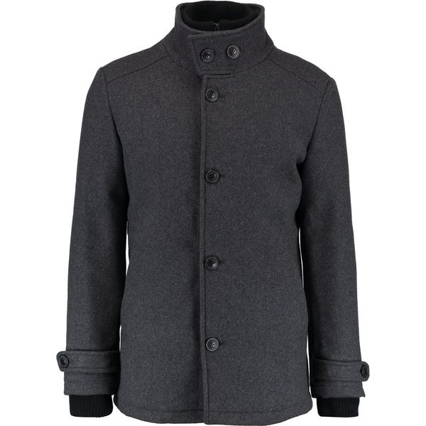 fde58e98c9ccb Jack & Jones Płaszcz wełniany /Płaszcz klasyczny grey melange ...