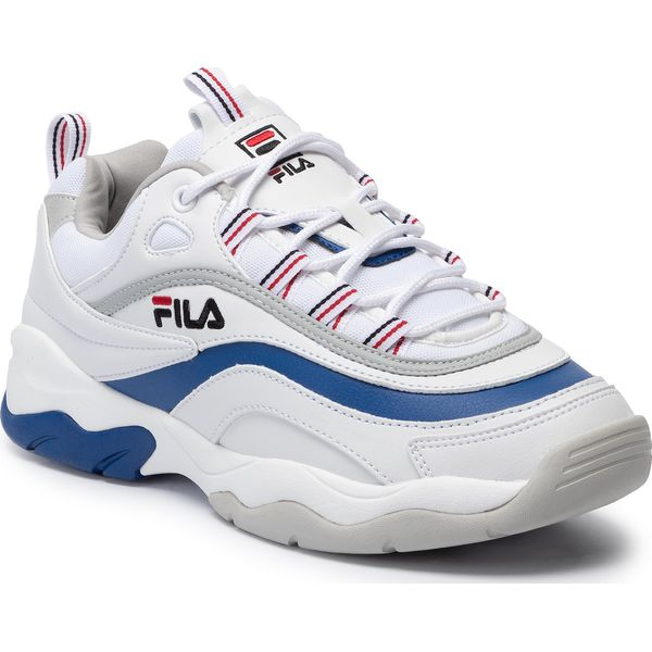 Sneakersy FILA Ray Low 1010578.02G WhiteElectric BlueGray Violet