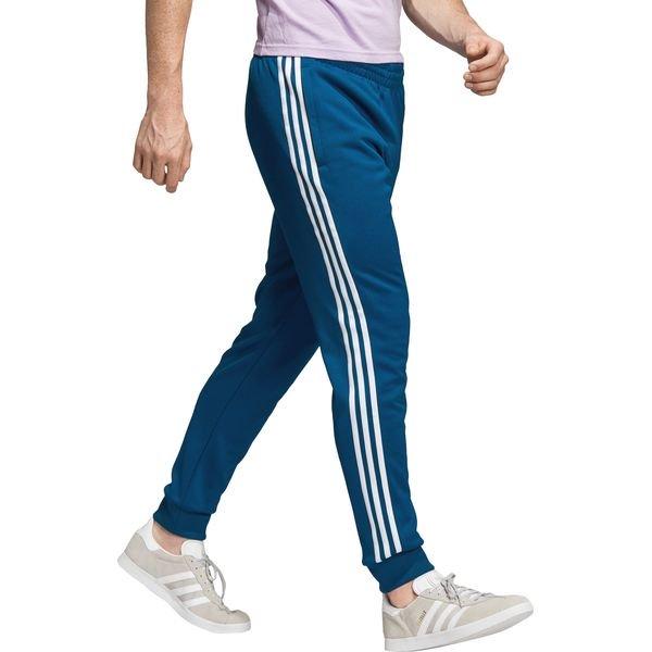 adidas Originals Spodnie dresowe Niebieski Spodnie dresowe męskie niebieskie w Bibloo