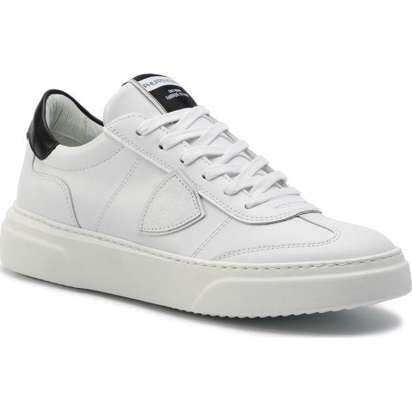 Sneakersy PHILIPPE MODEL Temple L U VEAU BALU V008 Blanc Noir