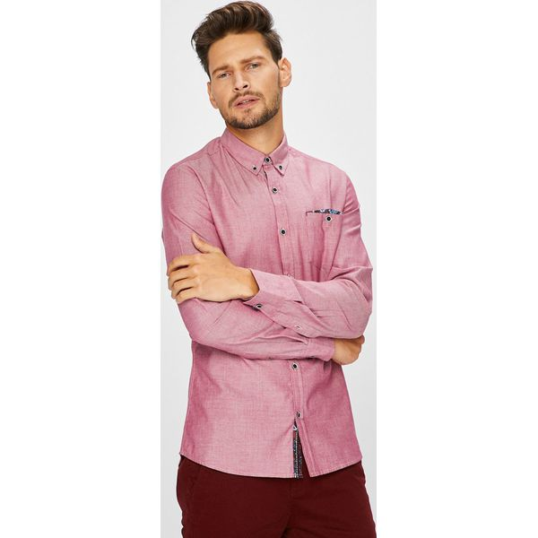8a190de0c62c Medicine - Koszula Arty Dandy - Różowe koszule męskie marki MEDICINE ...