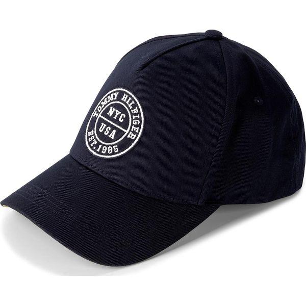 f4c2722884bad Czapka TOMMY HILFIGER - Varsity Cap AM0AM03027 413 - Niebieskie ...