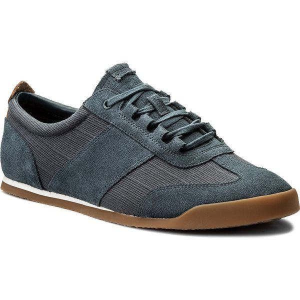 01822e85 Sneakersy CLARKS - Siddal Mix 261322217 Blue Combi - Buty sportowe ...