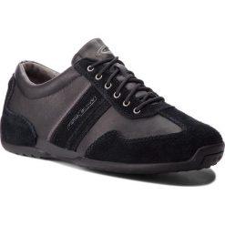 Czarne buty sportowe męskie Camel Active, bez ramiączek