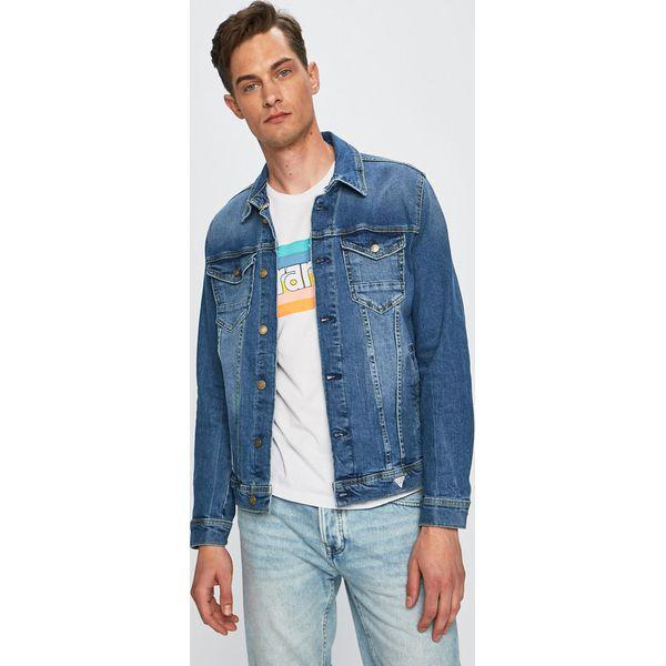 5b1bc876cf46c Guess Jeans - Kurtka jeansowa - Kurtki męskie marki Guess Jeans. Za ...