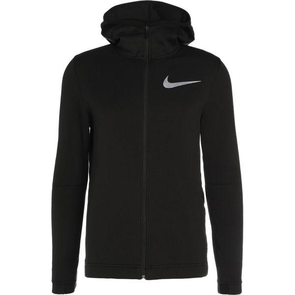 klasyczne dopasowanie trampki sklep w Wielkiej Brytanii Nike Performance DRY SHOWTIME HOODIE Bluza rozpinana black/black/black/white