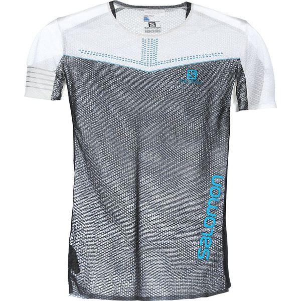 100% authentic c4ea1 6a9ae Salomon S/LAB SENSE Tshirt z nadrukiem white/black