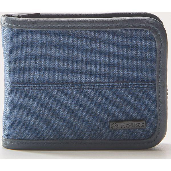 503801f973bd Materiałowy portfel - Granatowy - Portfele męskie marki House. W ...