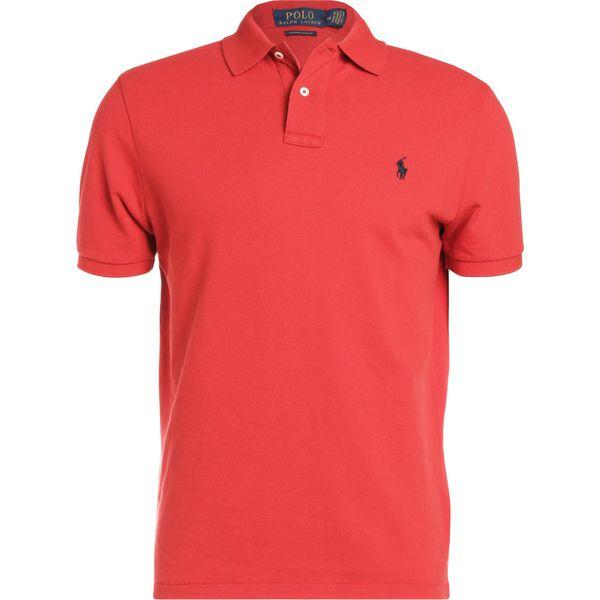 418b3229a Polo Ralph Lauren CUSTOM SLIM FIT Koszulka polo red - Koszulki polo ...