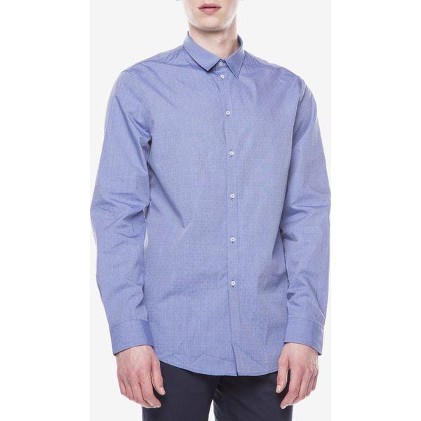 Trussardi Jeans Koszula Niebieski Niebieskie koszule  vUZq2