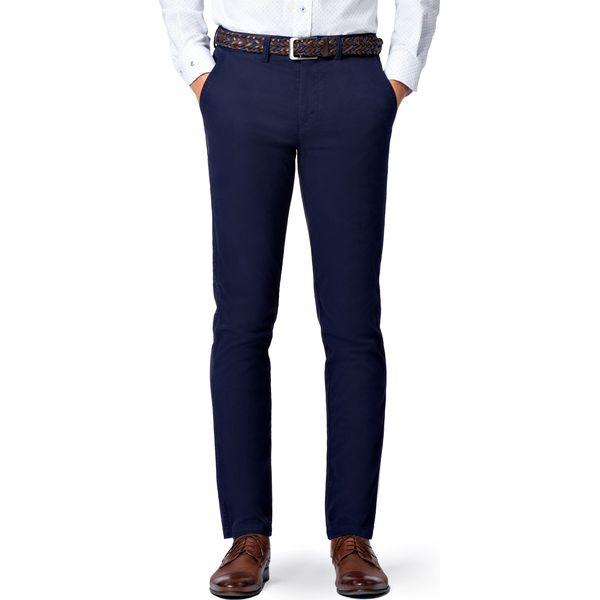 7ca776fd Spodnie Granatowe Chino Mono II